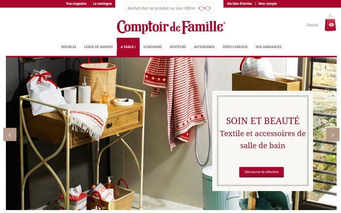 8 shopping tribe - Comptoir de famille shop online ...